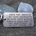 seek the courage